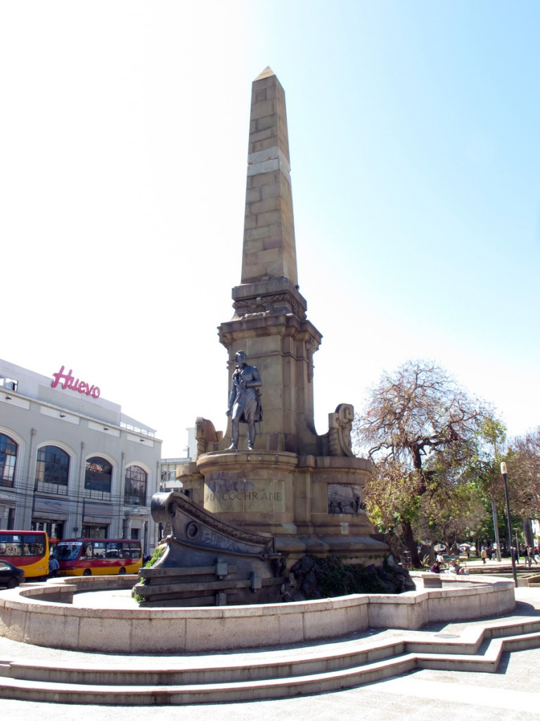 Lord Cochrane Monument, Valparaiso