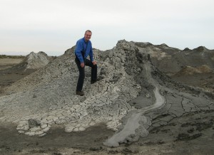 Ascending the mighty Mud Volcano