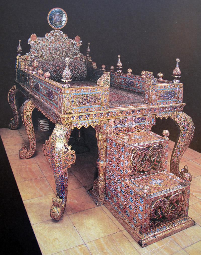 The Peaock Throne