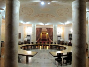 Stalin's Bunker Conference Room