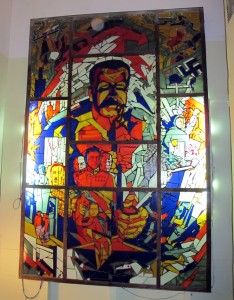 Stalin Bunker Stained Glass
