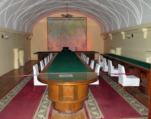 Stalin Bunker conference room