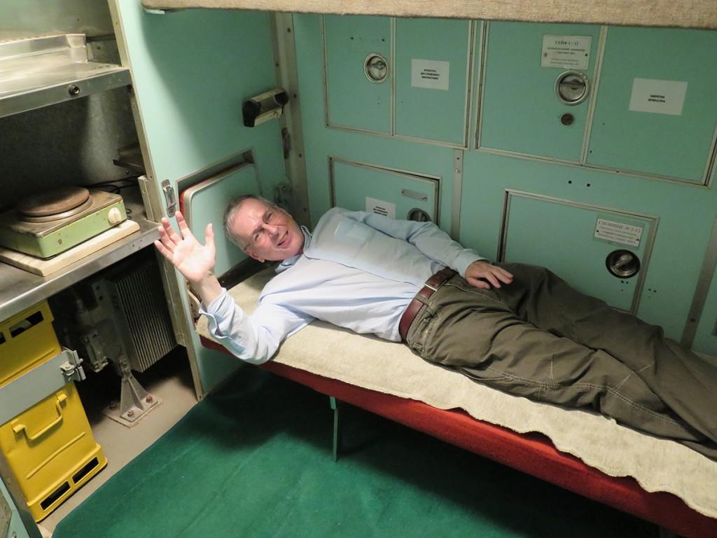 Scotsman in the silo crew room