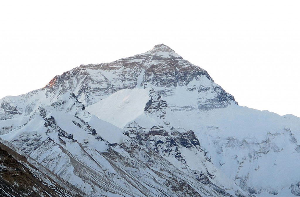 Everest from Rongbuk