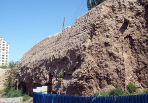 Kashgar: Really old walls